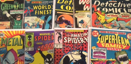 comic book titles